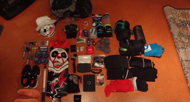 What does an adventurer pack for a minimalist journey across Japan?